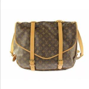 Authentic Louis Vuitton Saumur 43 Shoulder Bag